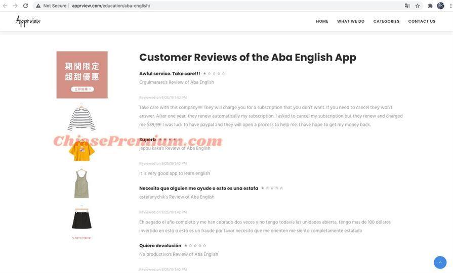 Review ABA English