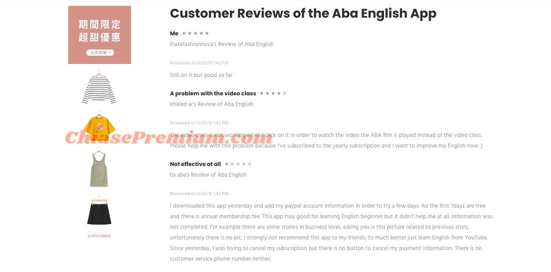 """Tính năng """"Video Class"""" của ABA English đôi khi hoạt động không ổn định"""