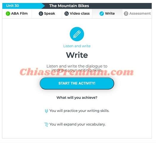 Write English