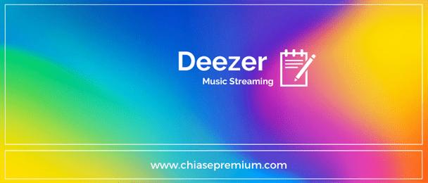 Tài khoản Deezer premium