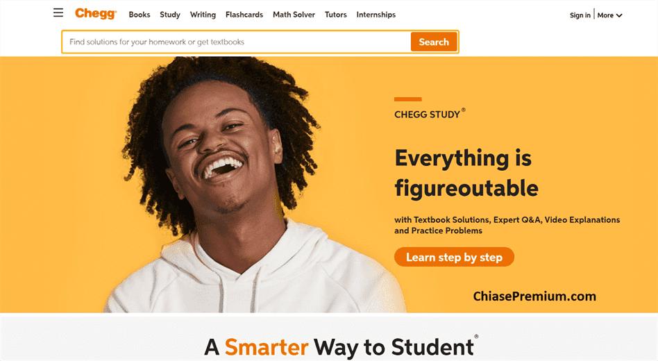 Tài khoản Chegg - công cụ hỗ trợ học tập rất hữu ích cho sinh viên.