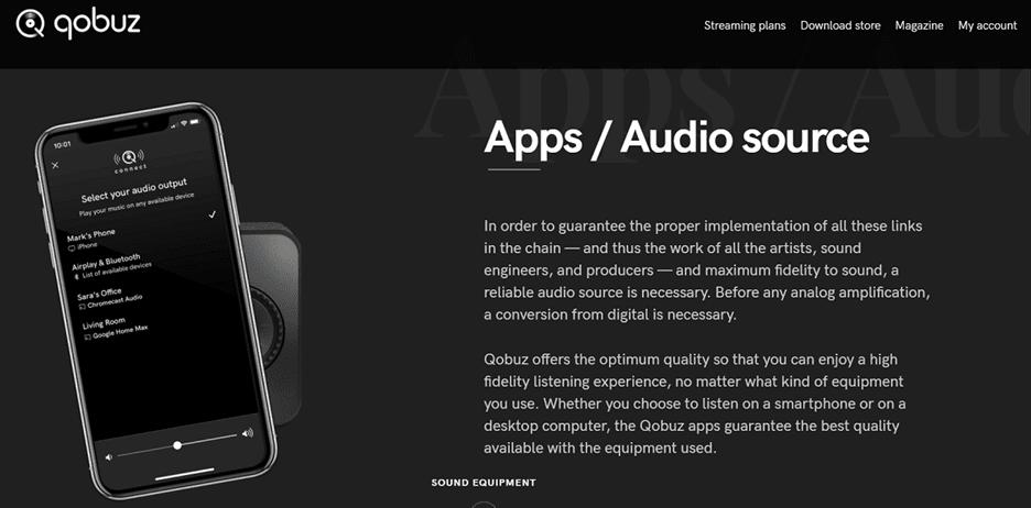 Dịch vụ nghe nhạc lossless online Qobuz là gì?