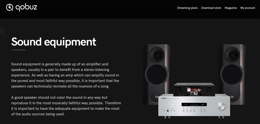 Chia sẻ trải nghiệm dịch vụ nghe nhạc lossless online Qobuz