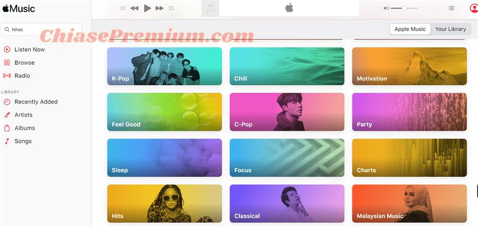 Những mình thích ở ứng dụng nghe nhạc Apple Music