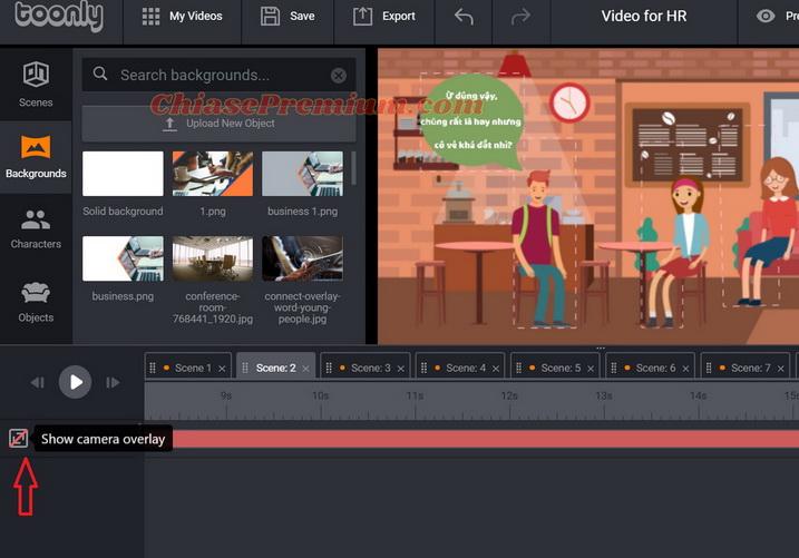 Hướng dẫn cách làm video tuyển dụng với Toonly (tiếp theo)