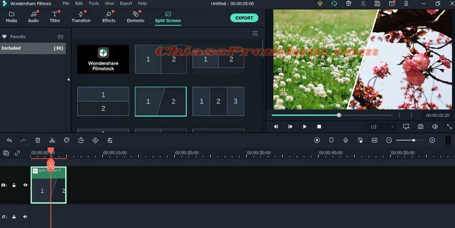 Tính năng biên tập hình ảnh trên phần mềm chỉnh sửa video Filmora