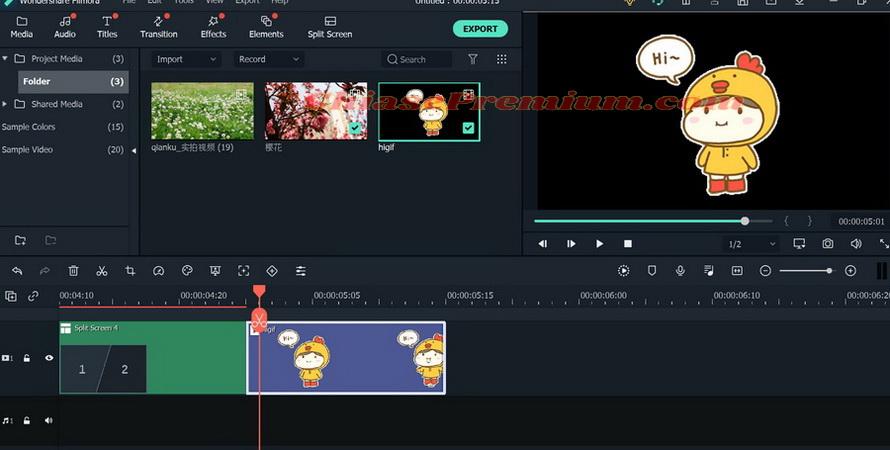Tính năng tạo ảnh GIF trên phần mềm chỉnh sửa video Filmora