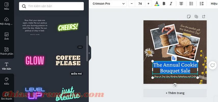 Adobe Spark vs Canva: Giao diện sử dụng