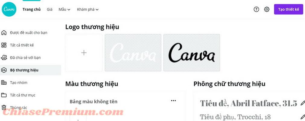 Adobe Spark vs Canva: Thiết kế bộ nhận diện thương hiệu