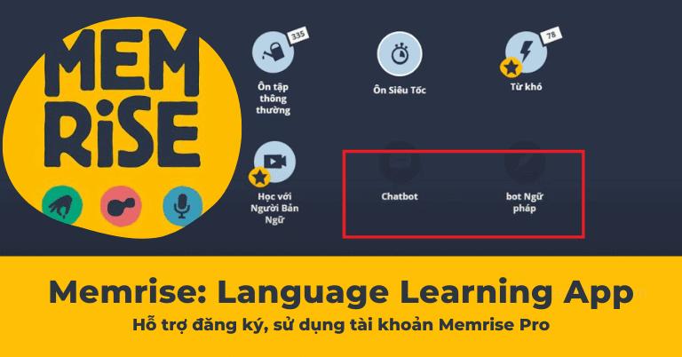 Đánh giá chi tiết và chia sẻ tài khoản Memrise Pro