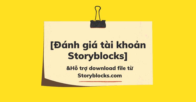 Storyblocks là gì
