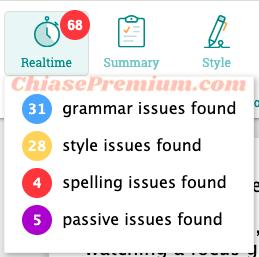 ProWritingAid có đa dạng các chỉ số phân tích