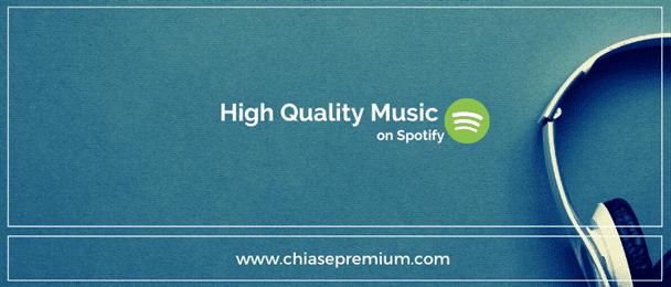Thủ thuật nghe nhạc chất lượng cao trên Spotify