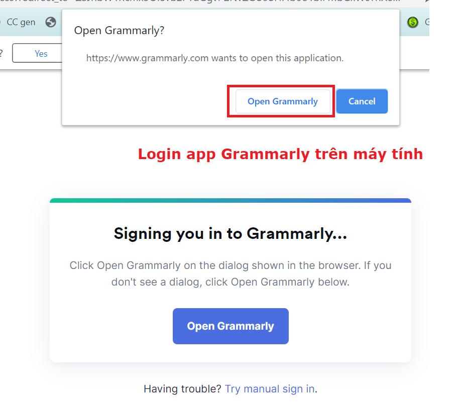 tài khoản Grammarly