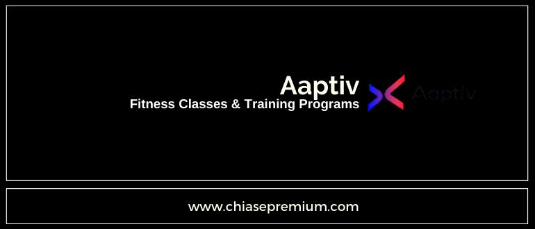 tài khoản ứng dụng thể hình Aaptiv