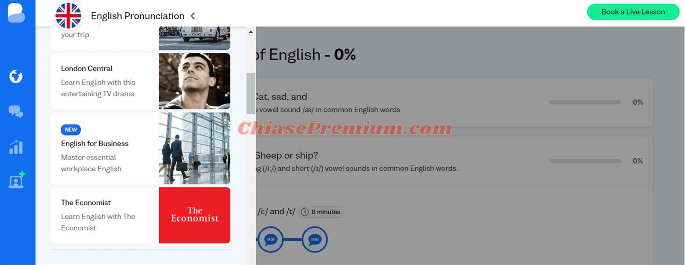 English for Business mới có trên Busuu