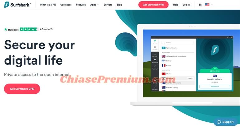 Đánh giá Surfshark VPN - Dịch vụ VPN bảo mật giá rẻ