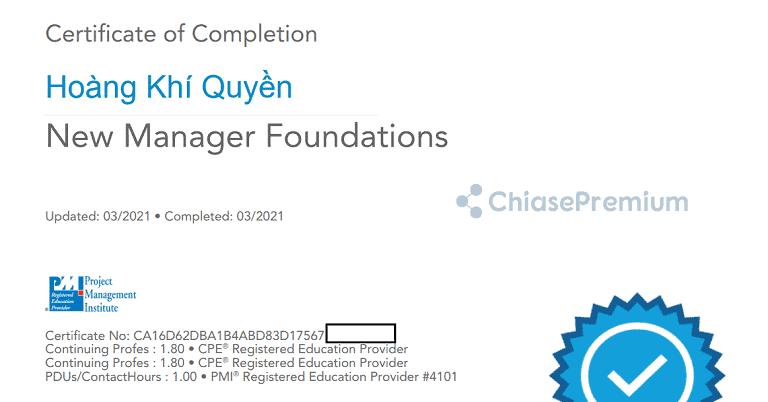 Lynda.com Certificates of Completion