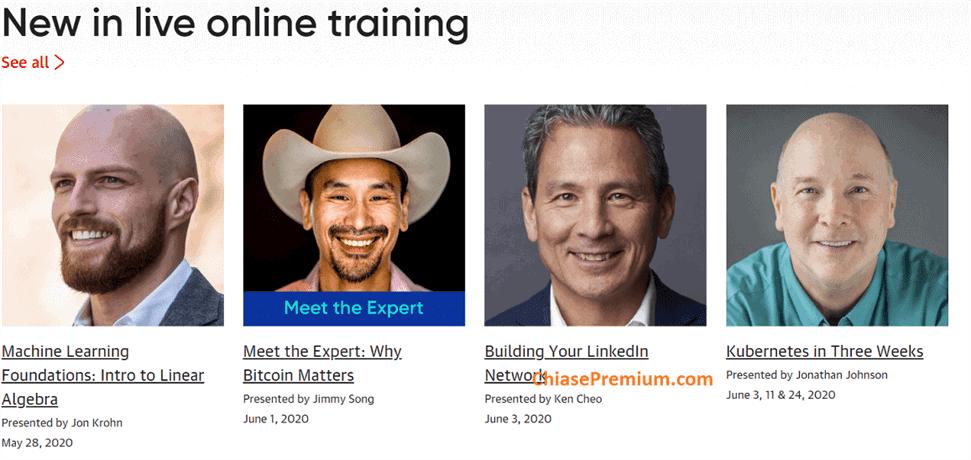 Bạn có thể học trực tuyến, trao đổi trực tiếp với nhiều chuyên gia hàng đầu thuộc nhiều lĩnh vực.