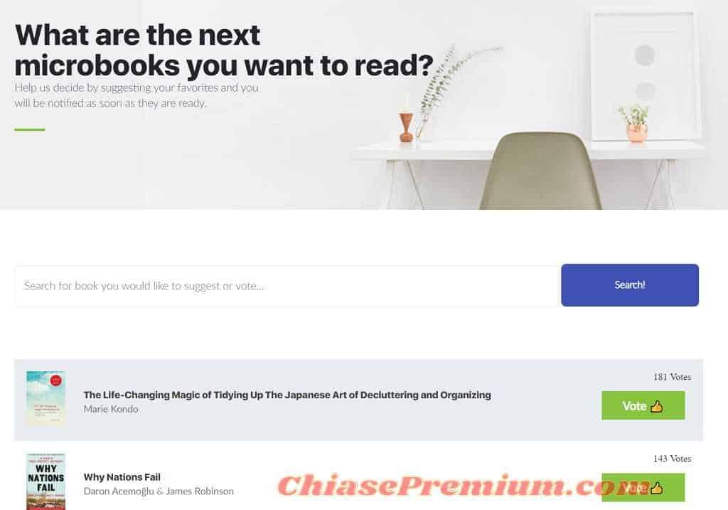 12min - Book summaries review: Next microbook