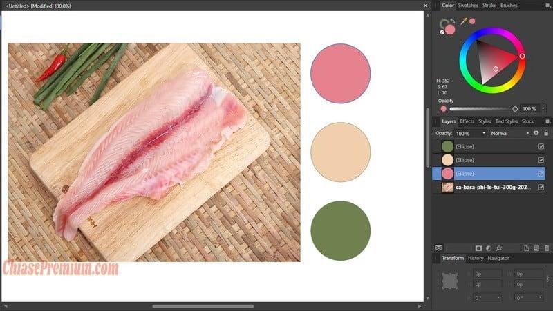 """Color Picker Tool thường được gọi là """"cây hút màu"""""""