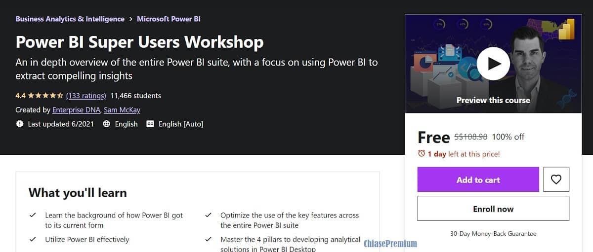 2-Power BI Super Users Workshop course
