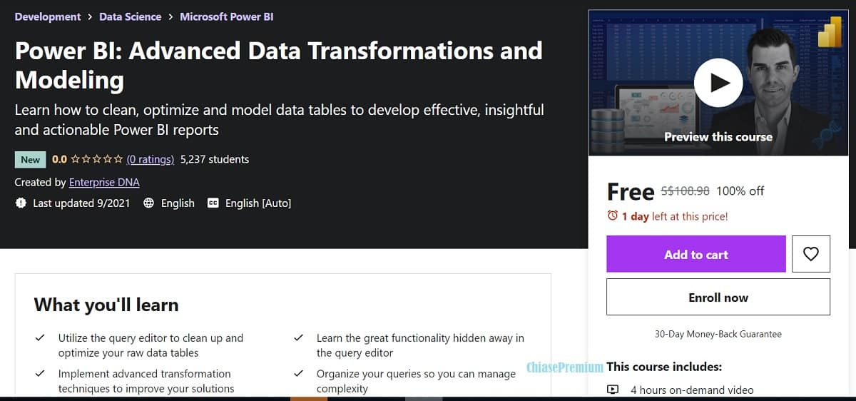 3-Power BI-Advanced Data Transformations and Modeling-Udemy-course-free