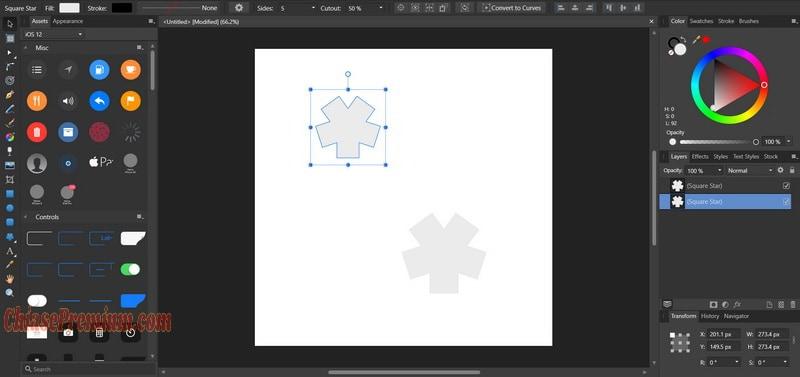 Hướng dẫn sử dụng Affinity Designer