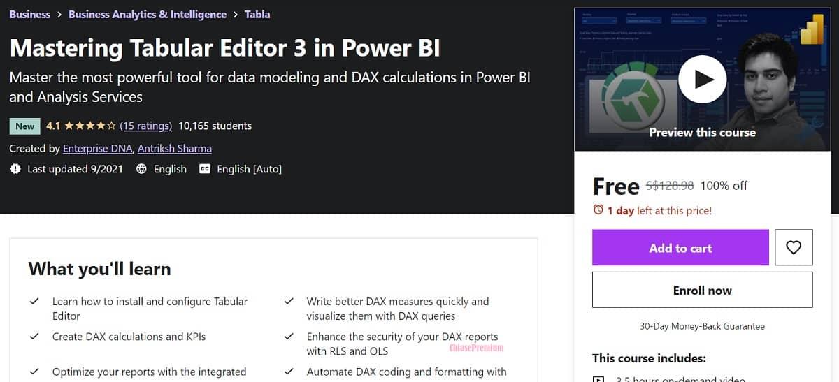 4-Mastering Tabular Editor 3 in Power BI course
