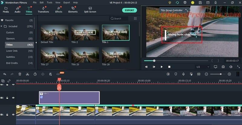 Điều chỉnh kích thước và nội dung Text - Motion Tracking