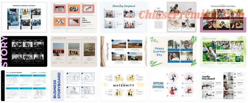 Những mẫu Storyboard bắt mắt dành cho dân Marketing và Design