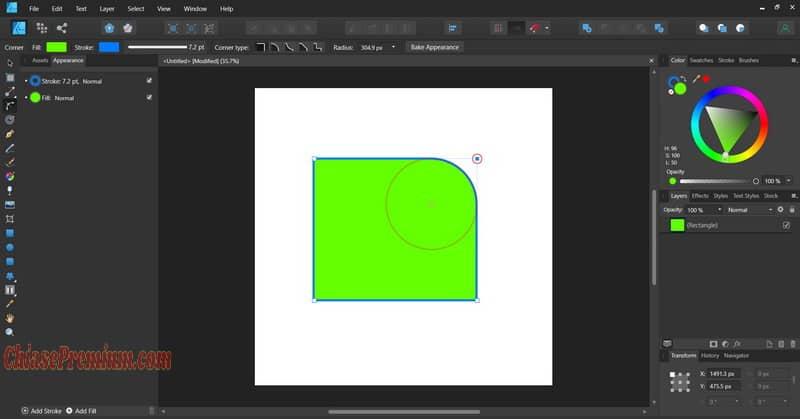 Hướng dẫn sử dụng Affinity Designer (tiếp theo)