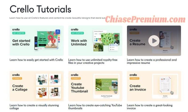 Crello design tutorials | Learn how to use Crello's creative tools
