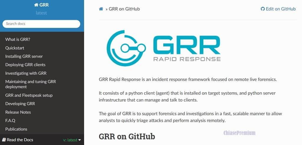 BOSSWARE-GRR Rapid Response