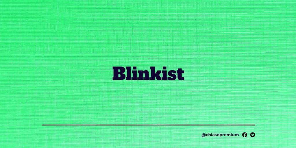 Blinkist-deal