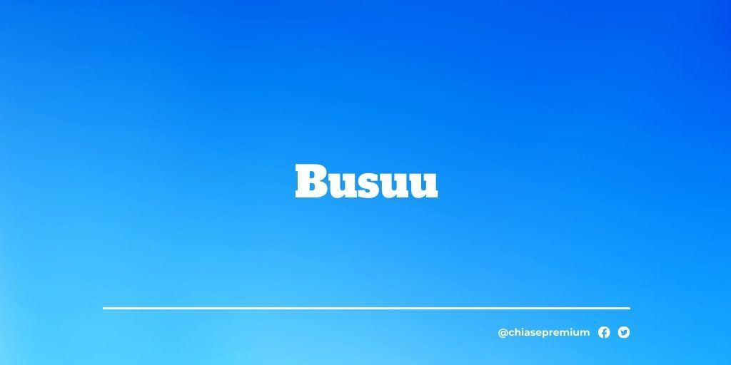 Busuu-deal