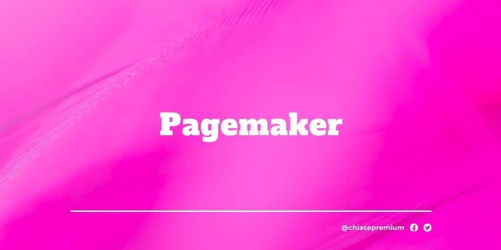 Pagemaker-deal