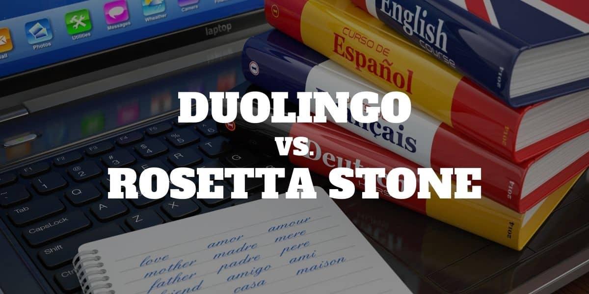 Rosetta Stone vs Duolingo