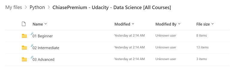 Udacity - Data Science [All Courses]