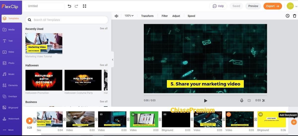 add-storyboard-flexclip