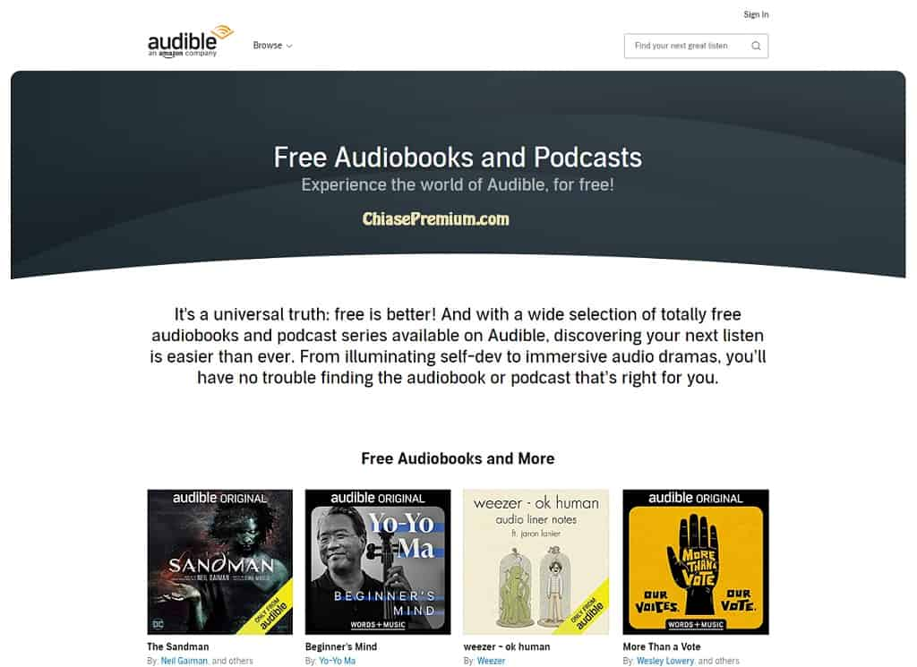 audible-free