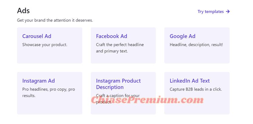Ads - Tạo content quảng cáo với CopySmith