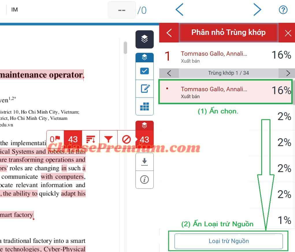 Cách check đạo văn nhiều lần cho cùng một văn bản trên Turnitin (tiếp theo)