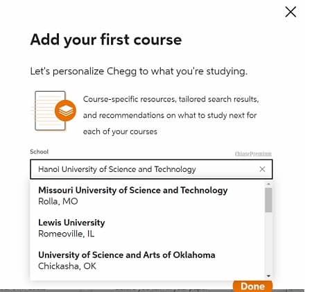 personalize-chegg-to-what-youre-studying