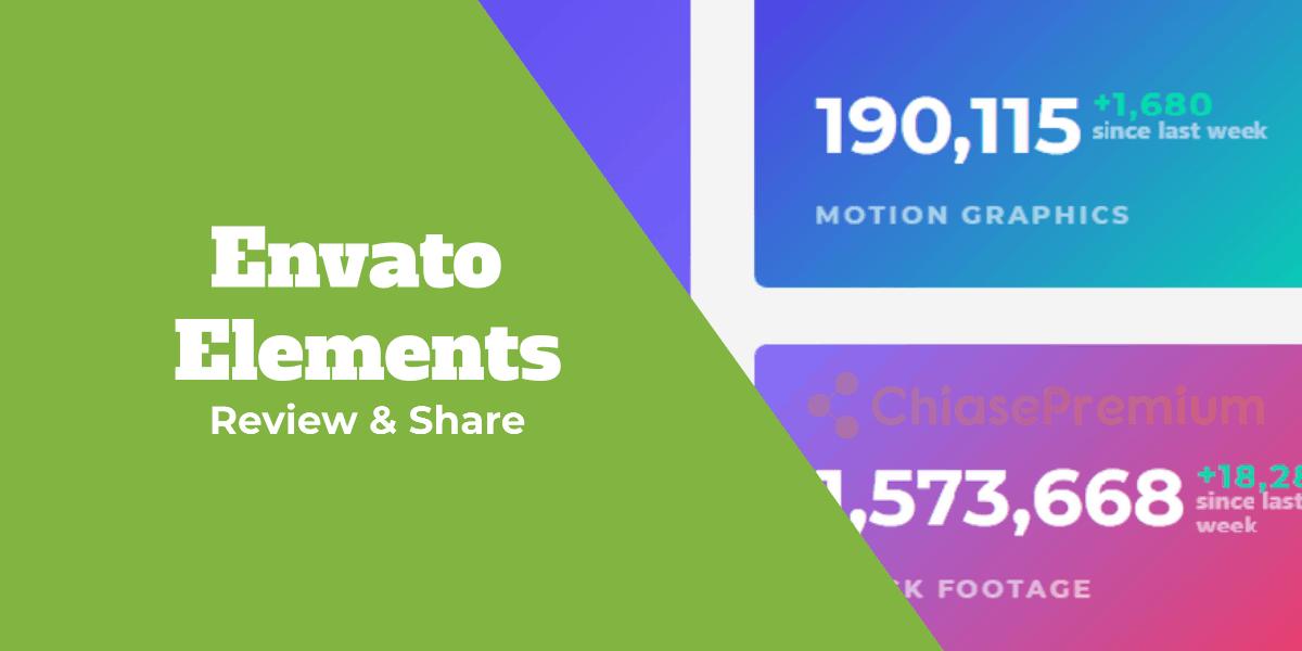 Review và hỗ trợ download Envato Elements Free