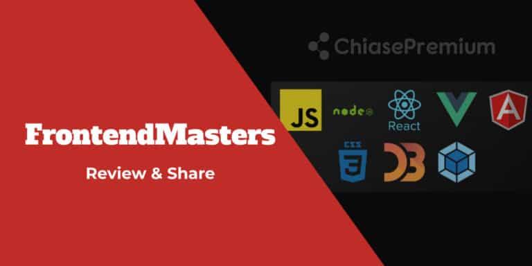 Review tài khoản FrontendMasters.com: không chỉ học Front-End mà còn Fullstack