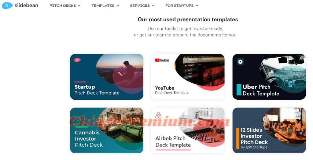 Slidebean AI: tự động chọn mẫu thiết kế slide chuyên nghiệp