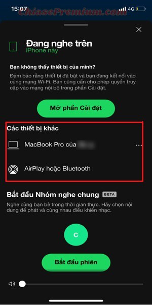 Sync Spotify Playlists