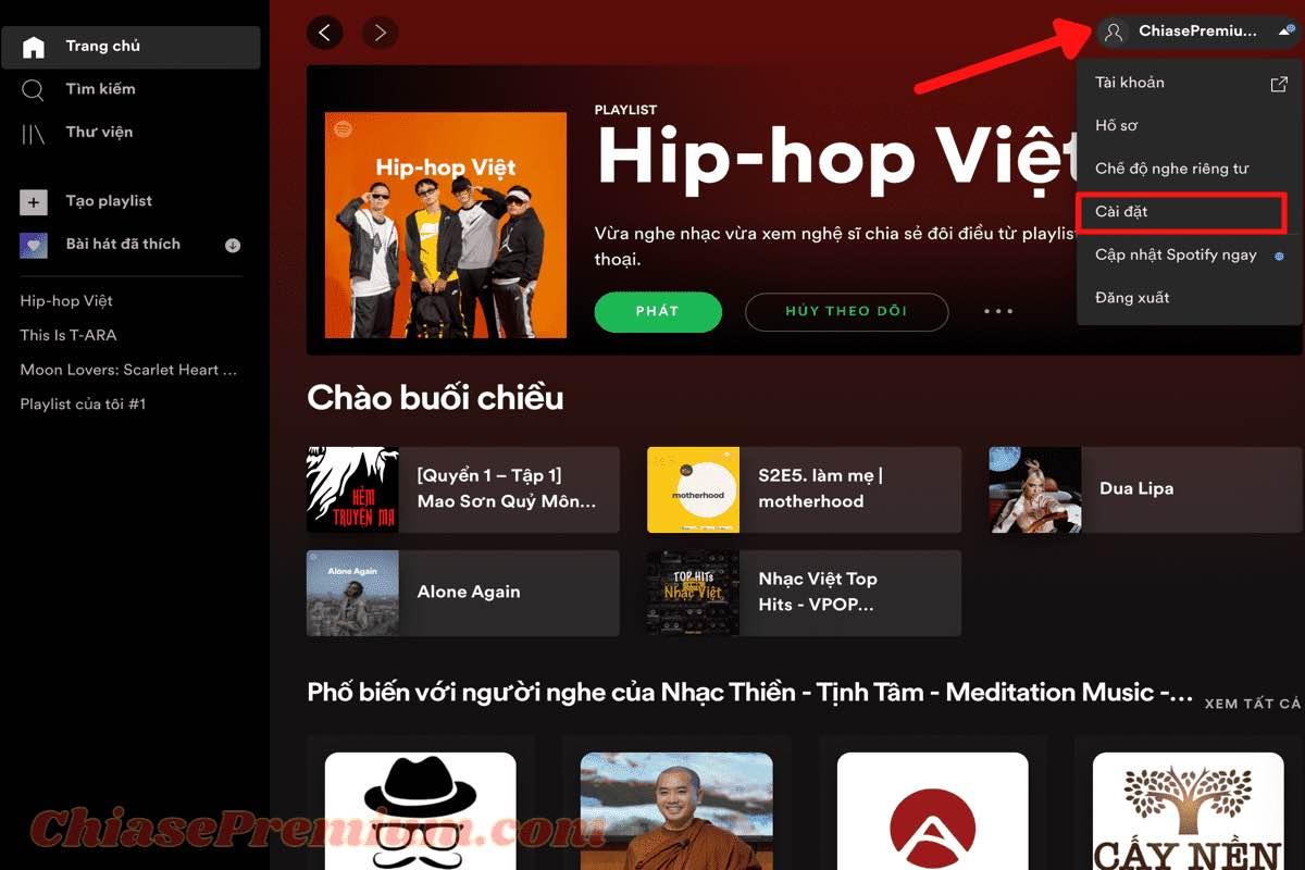 Thêm bài hát không có sẵn trên Spotify